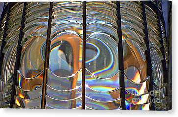 Fresnel Lens Canvas Print by Larry Keahey