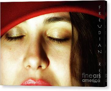 Freudian Red  Canvas Print by Steven Digman