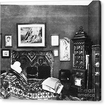 Unconscious Canvas Print - Freuds Consulting Room by Science Source