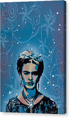 Frida Canvas Print by Tai Taeoalii