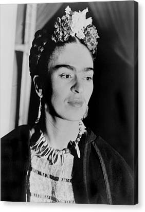 Lcgr Canvas Print - Frida Kahlo 1907-1954, Mexican Artist by Everett
