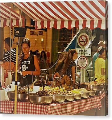 Friday Market Day Canvas Print