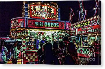 Fried Oreos Canvas Print by Jeff Breiman