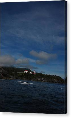 Friendly Cove From A Distance Canvas Print