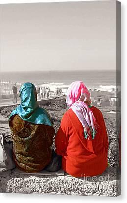 Friends, Morocco Canvas Print by Susan Lafleur