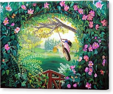 Friendship Garden Canvas Print