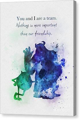 Friendship Quotes Canvas Prints | Fine Art America