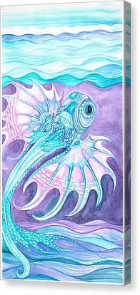 Frilled Fish Canvas Print
