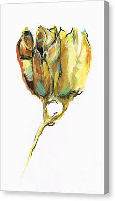 Canvas Print featuring the painting Fritillaria by Frances Marino