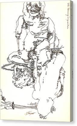 Frizano3 Canvas Print by Donna Frizano Leonetti