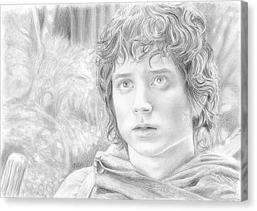 Frodo Canvas Print by Bitten Kari