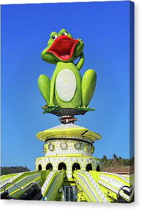 Froggy Canvas Print