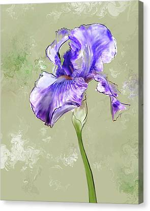 From Charlotte's Garden Canvas Print