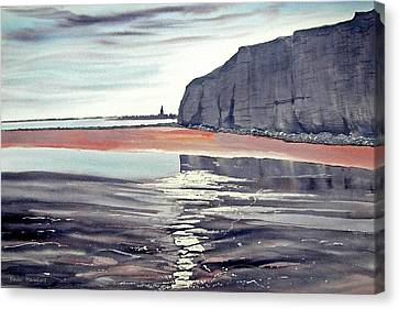 From Dane's Dyke Towards Bridlington Canvas Print