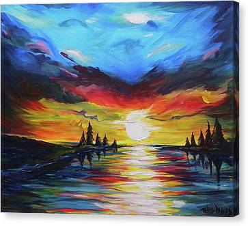 From Dusk To Dawn Canvas Print