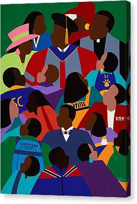 Canvas Print - From Eminence To Excellence by Synthia SAINT JAMES
