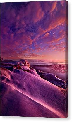 Canvas Print featuring the photograph From Inside The Heart Of Each by Phil Koch