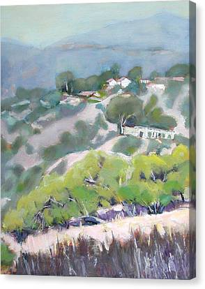 From Jack Smith Trail On A Summer Morning Canvas Print
