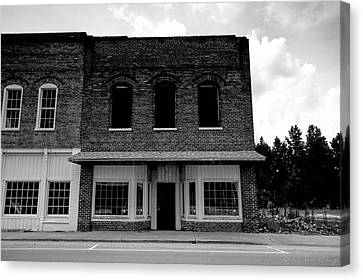 From Mainstreet Canvas Print by Bill Cantey