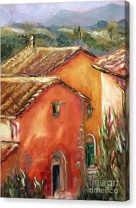 From My Villa Window Canvas Print