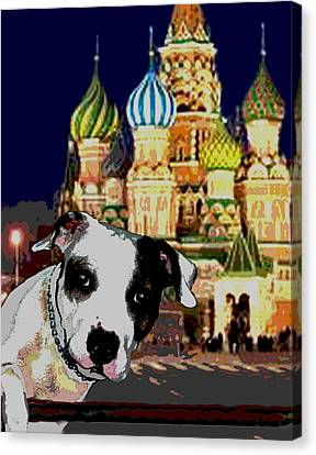 From Russia With Love Canvas Print by Jann Paxton
