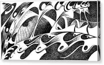 Musica Canvas Print - From Starship Bridge by Ciro Pignalosa