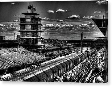 From The Hulman Suites  Canvas Print by Josh Williams