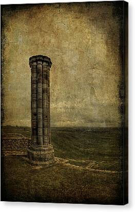 From The Ruins Of A Fallen Empire Canvas Print by Evelina Kremsdorf