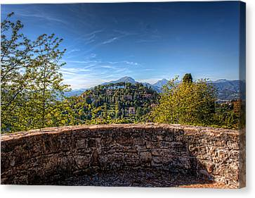 From The Top Of Bergamo Canvas Print