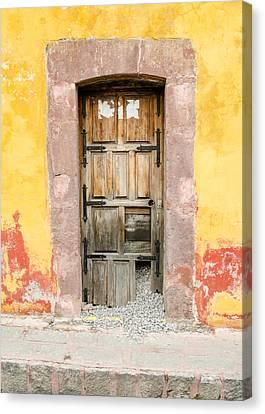 Front Door. Gravel Escaping. Canvas Print by Rob Huntley