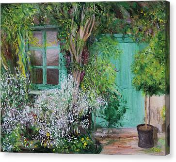 Front Door Canvas Print by Kathy Knopp