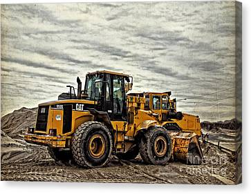 Front End Loader Canvas Print by Tom Gari Gallery-Three-Photography