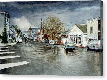 Front Canvas Print by Perry Woodfin