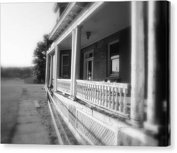 Front Porch Secrets Canvas Print by Terry  Wiley