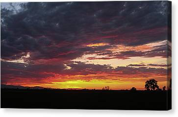 Front Range Sunset Canvas Print