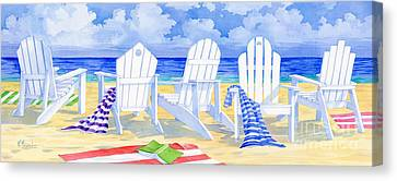 Front Row Seats Canvas Print by Paul Brent