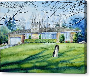 Front Yard Protection Canvas Print