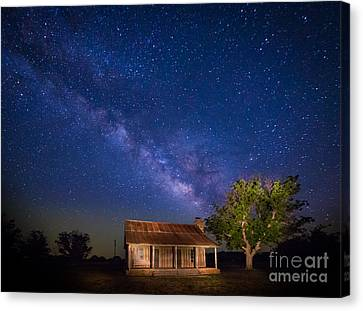 Frontier House Canvas Print by Inge Johnsson