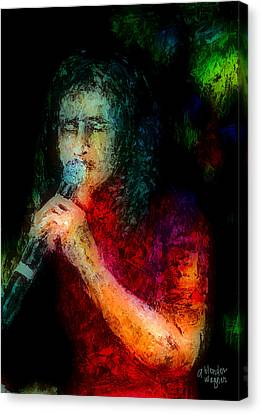 Frontman Canvas Print by Arline Wagner