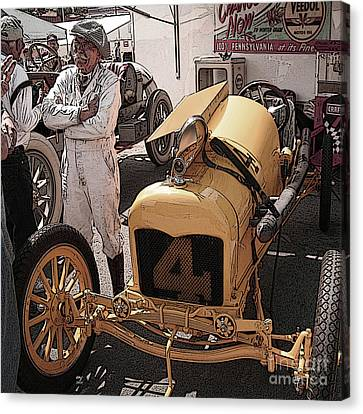 Fronty Ford 1915 Canvas Print by Curt Johnson