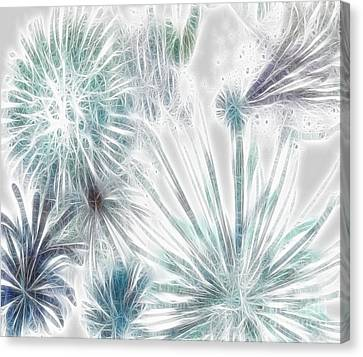 Frosted Abstract Canvas Print by Methune Hively