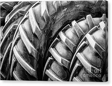 Frosted Tires Canvas Print