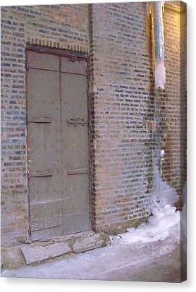Frozen Alley II Canvas Print
