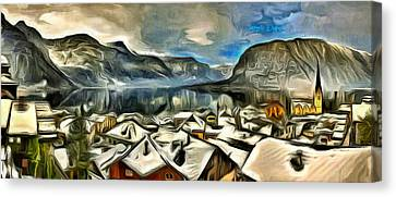 Frozen Beauty - Da Canvas Print