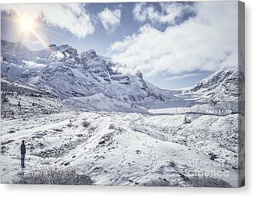 Frozen In Time Canvas Print by Evelina Kremsdorf