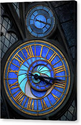 Frozen In Time  Canvas Print by Luis Rosario