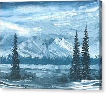 Frozen In Time Canvas Print by Shelley Zwingli