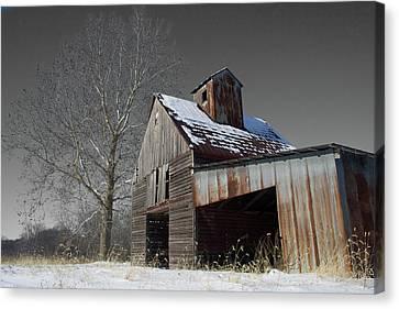 Frozen Letcher Canvas Print