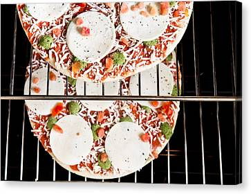 Frozen Pizza Canvas Print