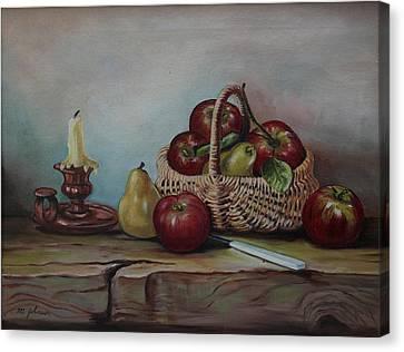 Fruit Basket - Lmj Canvas Print